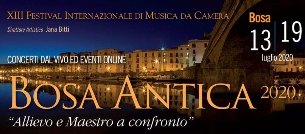 """Concerti dal vivo ed eventi online """"Bosa Antica 2020"""""""